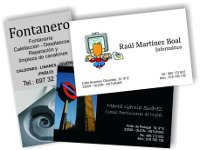 3 tipos de tarjetas de visita