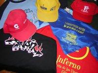 Textil con logotipos personalizados